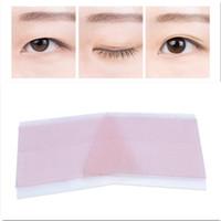 ingrosso nastro eyeliner nero-Adesivo nastro adesivo con palpebra stretta invisibile su entrambi i lati 26Pairs / Sheet