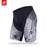 Wholesale Bikes Apparel - NUCKILY Summer men's cycling shorts with spider net sublimation bike apparel BK293