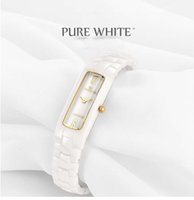 Wholesale Gold Paper Stock - Genuine high-grade ceramic watches watches quartz watch fashion leisure simple waterproof paper gift box packaging stocking
