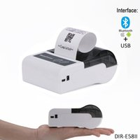 58mm Bluetooth + USB Handheld Mini Thermal Receipt Drucker Arbeit mit Android, IOS, Windows