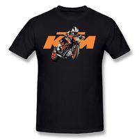 Wholesale Race Crew Shirts - KTM Racing Logo Fashion Adult 2017 new High Quality 100% Cotton men's T Shirt cheap sell Free shipping
