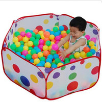 Wholesale tent pool ball pit - 2017 Hot Children Toys Tent Game Ball Pits Pool Foldable Children Ball Pool Outdoor Fun Sports Educational Toy