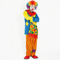 Costume d'Halloween Lady Adult Kids Clown costume costume de clown costume costume de clown