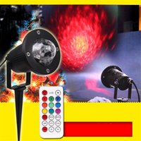Spotlight Bulb outdoor garden fires - Waterproof LED Fire Laser Outdoor Landscape Garden Xmas Projector Moving Lights