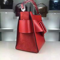 Wholesale Cross News - Genuine Clutch Bag News Women Crossbody Bag Small Fashion Burgundy Bag Belt Boyy Handbag Leather High Quality Bobby Bags Single Shoulder Bag