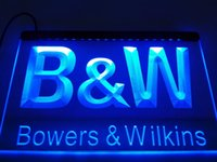 LL019- BW Bowers Wilkins Audio Teatro LED Neon Light Sign
