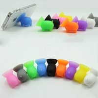 Wholesale silicone sucker phone holder online – Cute Pig Stands Sucker Silicone Phone Holder Support For All Brand Mobile Phone Mp4 Mp3 Mix Color