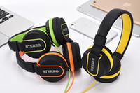 Wholesale Headset Sponges - Adjustable Stereo Headphones Gaming Headset with Microphone Sponge Cushion for Mobile phone Computer PC Gamer
