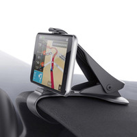 Wholesale phone holder adjustable clip online – Universal Auto Dashboard GPS Navigation Holder Adjustable Cell Phone Car Magnet Holder Clip Stand Bracket for iphone Samsung Smartphone