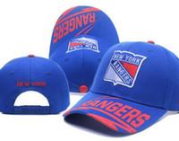 Wholesale Lk Snapback Hats - 2017 New Arrival Ball Cap Men Visor New York Ranger Throwback NHL Vintage Snapback Hats Flat Sport LK bone Hockey Baseball Adjustable Caps