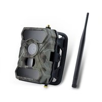 Wholesale Night Vision Camera 3g - 3g Wireless Trail Camera S880G 12MP AT&T Invisible IR Deer Camera with Night Vision.1080 HD Trail Cameras for Deer Hunting