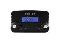 Wholesale CZE C W FM Broadcast Transmitter for Sale MHz Adjustable