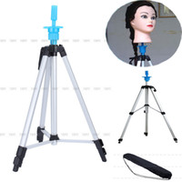 Wholesale 55 quot Adjustable Tripod Stand Salon Hair Cosmetology Mannequin Training Head Holder