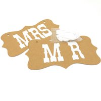 Wholesale Diy Party Favor Cake - Skull Mask free Shipping Diy Black Mrs Paper Sign Photo Booth Props Wedding Decoration Favor Photocall for Party