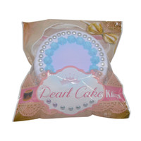 Wholesale way cake - new cute new simulation super slow rebound PU pearl cake Squishy flavor shooting way