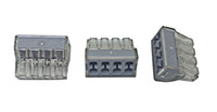 Wholesale terminal blocks pins resale online - Push Wire Wiring Connector For Junction Box pin Conductor Terminal Block AWG NB