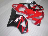 Wholesale Honda Cbr954rr Fairings - Free customize fairing kit for Honda CBR900RR 2002 2003 red black fairings set CBR 954RR 02 23 OT45