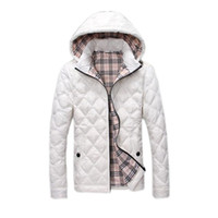 Wholesale Winter Clearance Down Coats Men - Wholesale- 2017 new arrival spring England plaid Down jacket men,95%White duck down winter coat,size M-3XL (clearance sale)