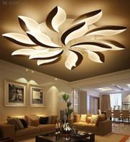 Wholesale Led Plafond - NEO Gleam New Design Acrylic Modern Led Ceiling Lights For Living Study Room Bedroom lampe plafond avize Indoor Ceiling Lamp LLFA
