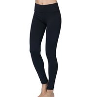 Wholesale stretch leggings for women - Wholesale yogaes pants capris high quality high stretch lulu women active Pants  Leggings for women