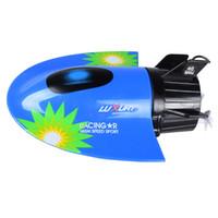 Wholesale Motor Fishing - Wholesale- Create Toys Sea Wing Star 3314 Mini RC Submarine Remote Control Racing Submarine Electronic Fun Fishing Toy VS Bait Boat