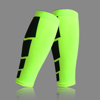 Wholesale knees protector online - 1pcs Outdoor Movement Knees Leggings Profession Personalized Knee Protector Protect The Calf Kneepad For Man Running Playing Football tg I