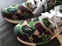 Wholesale Camo Football - NMD XR1 Camo Running Shoes Men Primeknit Sneakers Top Running Sneakers Fashion Boost Running Shoe NMD Runner Primeknit With Box