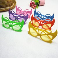 Wholesale Colourful Glasses Frames - Free shipping wholesale 20pcs colourful fashion UV cartoon butterfly kid sunglasses outdoor children beach glasses beach accessories eyewear