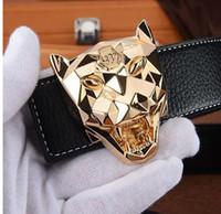 Wholesale Popular Belt Brands - Designer luxury leopard belt Fashion Popular P Belt Hot Brand Mens womens Quality Genuine Leather Designer Cowhide Belts For Men Luxury Belt