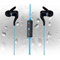 Wholesale iphone5 blue - BT-3 In Ear Wireless Sport Earphones For S6S7 edgeGalaxy Bluetooth Stereo Headset Headphone with Mic Volume Control Earphone For Iphone5 6s
