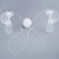 Wholesale Electric Breast Pumping - Comfortable Double Electric Breast Pumps BPA FREE Mother Intelligent Microcomputer Pump With Baby Feeding Bottle Nipple Suction