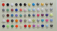 Wholesale Kam Resin Snaps - Wholesale-(60 color) DHL 6000 sets T5 Size 20 Kam Plastic Resin Snaps Buttons Snaps fasterners for baby diaper nappy cloth Dia12.4mm