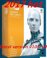 Vente en gros -new ESET NOD32 Smart Security v10.0v9.0v 8.0 version 2 ans 3pc 3utilisateur clé