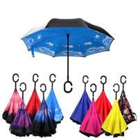 3c3865ebbabce Wholesale inverted umbrella for sale - Group buy Windproof Reverse Folding  Double Layer Inverted Chuva Umbrella