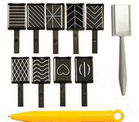 nägel polierstifte großhandel-11 Teile / los 3D Magnet Stick Magnetische Katzenauge Magnet Katzenaugen Stift Zeichnung Vertikale Stick Für Nagelgelpoliermittel Magische Nagel Werkzeuge