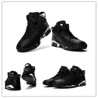 Wholesale Lace Rose Women Top - 2017 Wholesale Hot Sale air retro 6 Black Cat Men Women Basketball Shoes for Top quality 6s Airs Sports Sneakers Free Shipping