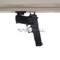 настольные крепления оптовых-Магнит скрыл держатель пистолета пушки держатель для кровати стола или под номинальностью таблицы 25lb