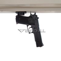 Wholesale Table Desk Mount - Magnet Concealed Gun Pistol Holder Mount for desk bed or under table 25lb Rating