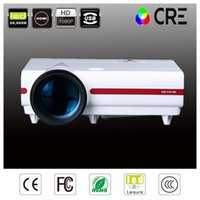 Discount cheapest hd led 3d projector - Wholesale- Cheapest!! Best 1280*768 Full HD LED LCD Video LED 3D Projector 720P 3500lms 2HDMI USB VGA