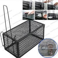 Wholesale Rodent Wholesale - Rat Catcher Spring Cage Trap Humane Large Live Animal Rodent Indoor Outdoor patio Lawn Garden Supplies MYY