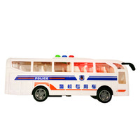 Wholesale Model Toys Buses - 2017 real tamiya brinquedos for police model mini cute cars toys christmas birthday gift children boy collection toy car children's