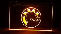 Wholesale Home Office Products - Bombardier Recreational Products BRP beer bar pub club 3d signs led neon light sign home decor crafts