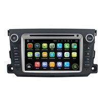 Wholesale Car Dvd Gps Player Smart - Fit Mercedez Benz Smart 2001-2012 Android 5.1.1 1024*600 HD car dvd player gps radio 3G wifi BT dvr OBD2