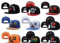 Top Quality New Fashion 7 Stili di colore Musica Cuffie Musica Amo Hip-Hop Snapbacks Cappelli Hip Hop Cappellini da baseball Uomo Donna Cappellini
