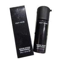 Wholesale Famous Lamps - Famous Brand Hot Face Prep + Prime Moisture Infusion Serum Hydratant Primer 50ml Foundation Glass bottles DHL Free shipping