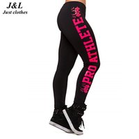 Wholesale Printed Leggings Large Size - Wholesale- New 2015 Fashion Women Leggings Comfortable Large Size Letter Print Stretchy 7 Styles Casual Sporting Ninth Leggings S-4XL