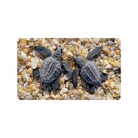 Non woven Fabric outdoor rubber rugs - Beautiful Sea Turtle Custom Doormat Entrance Mat Floor Mat Rug Indoor Outdoor Front Door Bathroom Mats Rubber Non Slip Size x inches