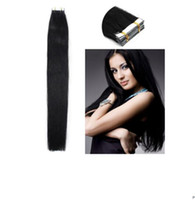 Wholesale Taped Weft Weaving Hair - 8A grade brazilian remy tape in human hair extensions 100g pack skin weft weaves in stok