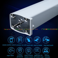 Wholesale Remote Curtain System - Mobile control electric curtain motor,motorized window curtain motor, remote control electric curtain motor,Smart home system