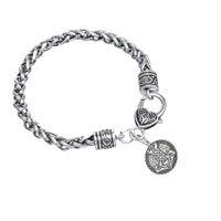 Wholesale Hammered Bracelet - Hot Selling Exquisite Goth Supernatural Thor's Hammer Mjolnir Charm Bracelet Fashion Jewelry Gifts